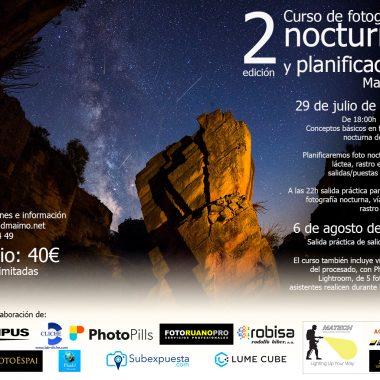 Abrimos inscripciones para la 2ª edición del Curso de fotografía nocturna y planificación
