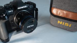 El mejor compañero para el Laowa 7.5mm f2, portafiltro NISI M75